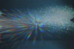 Glitch van het testscherm Textuur stock fotografie