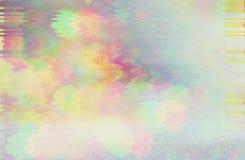 Glitch van het testscherm Textuur royalty-vrije stock afbeelding