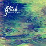Glitch vector effect background for corrupt file Stock Photos