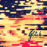 Glitch  effect design background Stock Photography