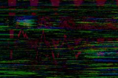 Glitch vhs background artifact noise,  signal design. Glitch vhs background artifact noise damage texture,  signal design royalty free illustration