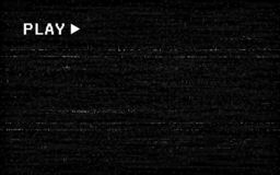 Free Glitch VHS Effect. Old Camera Template. White Horizontal Lines On Black Background. Video Rewind Texture. No Signal Stock Image - 160142571