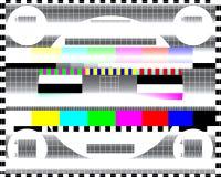 Glitched резюмирует предпосылку вектора сделанную красочного mosai пиксела Стоковое Изображение
