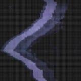 Glitched abstrakcjonistyczny wektorowy tło robić kolorowa piksel mozaika Digital gnije, sygnałowy błąd, telewizyjny fail modny Zdjęcie Royalty Free