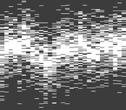 Glitched halftone wave Royalty Free Stock Photo