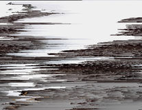 Glitched pale background Royalty Free Stock Images