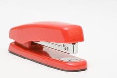 glitery czerwieni zszywacz Obrazy Stock