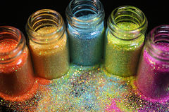Glitter Foto de Stock Royalty Free