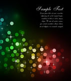 Glitter Abstrat Lights for Flyers Background Stock Photos