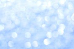 Glitter azul Imagens de Stock Royalty Free