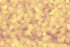 Glitter background. Abstract bokeh image on warm light space stock photo