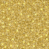 Glitter Background. Abstract gold glitter vector background. Design element Royalty Free Stock Images