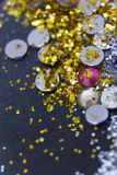 Glitter background Royalty Free Stock Photos