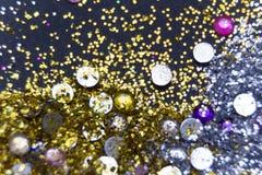 Glitter background Stock Image
