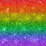 Glitter background, colors of rainbow, LGBT. Vector Stock Photography