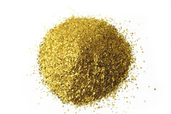 Glitter background placer gold stock photo