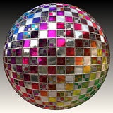 Glitter ball Stock Images