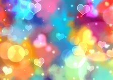 Glitter bokeh abstract elegance background. For Christmas and season greeting theme Royalty Free Stock Photos