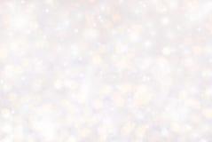 Glitter bokeh background stock images