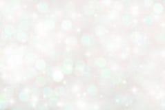 Glitter bokeh background. Blurry lights sparkle glitter bokeh background stock photo