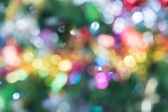 Glitter bokeh lights bokeh defocused as background. Image vector illustration