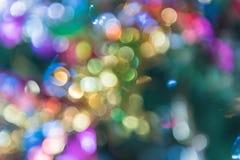 Glitter bokeh lights bokeh defocused as background. Image Royalty Free Stock Photo