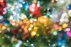 Glitter bokeh lights bokeh defocused as background. Image Royalty Free Stock Images
