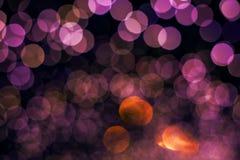 Glitter bokeh lights bokeh. Defocused background Royalty Free Stock Images