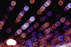 Glitter bokeh lights bokeh. Defocused background Stock Image