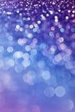 Glitter Bokeh Purple. Closeup of blurry, beautiful, purple glitter, ideal for a textured background royalty free stock photo