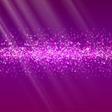 Glitter and bright sand, dark background. Royalty Free Stock Photo