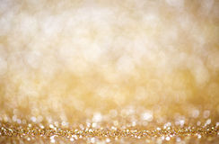 Glitter Christmas background. Glitter lights Christmas or New Year's shiny background Stock Photography