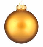 Glitter christmas ball Stock Photography