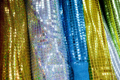 Glitter Cloth Stock Photography