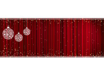 Glitter of color cristmas card. EPS 8 Stock Images