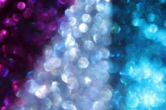 Glitter colors. A mix of glitter colors up close stock images
