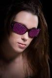Glitter cor-de-rosa Foto de Stock