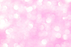 Glitter cor-de-rosa - fundo do dia dos Valentim Foto de Stock Royalty Free