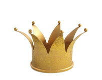 Glitter crown Stock Photo