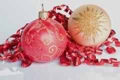 Glitter do Natal foto de stock