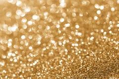 Glitter dourado Imagens de Stock Royalty Free