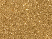 Glitter dourado Fotos de Stock Royalty Free