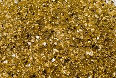 Glitter dourado imagem de stock royalty free