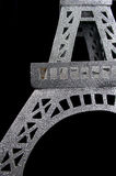 Glitter eiffel tower Royalty Free Stock Image