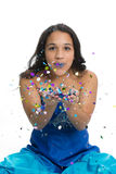 Glitter Girl Royalty Free Stock Photo