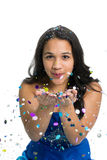 Glitter Girl Stock Images