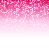 Glitter glow pink sparkles magical background. New Royalty Free Stock Image
