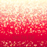 Glitter glow sparkles magical background. New year Royalty Free Stock Photography