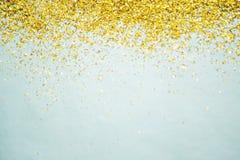 Glitter gold background stock photos