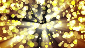 Glitter gold light. Loop. stock video